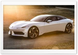 White Karma GT Car Pininfarina Ultra HD Wallpaper for 4K UHD Widescreen desktop, tablet & smartphone