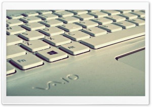 White Keyboard HD Wide Wallpaper for Widescreen
