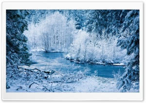 White Landscape HD Wide Wallpaper for Widescreen