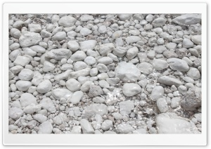 White Pebbles HD Wide Wallpaper for Widescreen