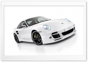 White Porsche HD Wide Wallpaper for 4K UHD Widescreen desktop & smartphone