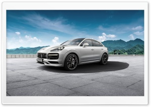 White Porsche Cayenne HD Wide Wallpaper for Widescreen