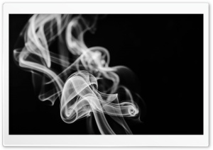 White Smoke HD Wide Wallpaper for Widescreen