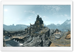 Whiterun, Birds Eye View - The Elder Scrolls V Skyrim HD Wide Wallpaper for Widescreen