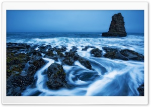 Whorls On Davenport Beach HD Wide Wallpaper for Widescreen
