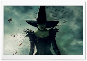 Wicked Witch of the East - Oz the Great and Powerful 2013 Movie HD Wide Wallpaper for Widescreen