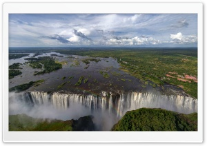 Widest Waterfall In The World HD Wide Wallpaper for Widescreen