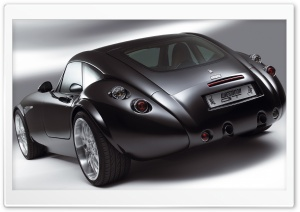 Wiesmann GT Car Back HD Wide Wallpaper for Widescreen