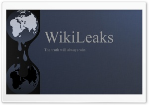 Wikileaks HD Wide Wallpaper for Widescreen