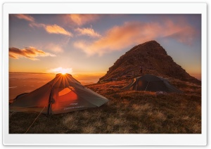 Wild Camp HD Wide Wallpaper for Widescreen