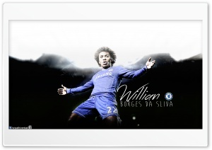 Willian Chelsea FC HD Wide Wallpaper for Widescreen