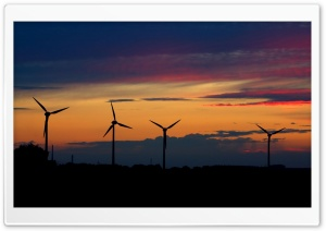 Wind Farm HD Wide Wallpaper for 4K UHD Widescreen desktop & smartphone