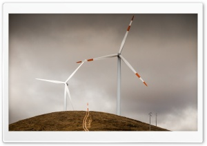 Wind Turbines HD Wide Wallpaper for Widescreen