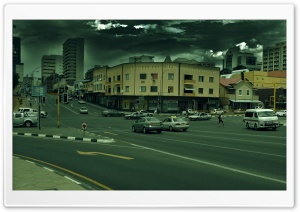 Windhoek City HD Wide Wallpaper for Widescreen