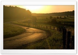 Winding Road HD Wide Wallpaper for Widescreen