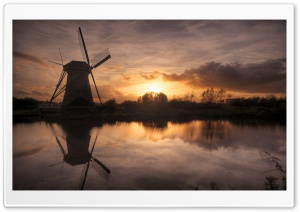 Windmill HD Wide Wallpaper for Widescreen