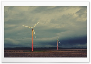Windmills HD Wide Wallpaper for Widescreen