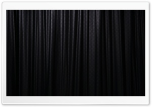 Window Curtain Black HD Wide Wallpaper for 4K UHD Widescreen desktop & smartphone