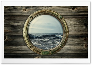 Window Of Boat HD Wide Wallpaper for Widescreen