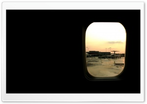 Window Plane HD Wide Wallpaper for Widescreen