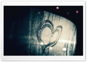 Window Steam Heart HD Wide Wallpaper for Widescreen