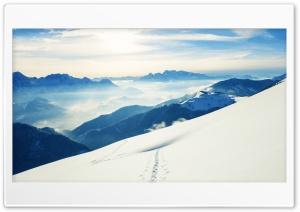 Windows 10 - Snow Mountains Ultra HD Wallpaper for 4K UHD Widescreen desktop, tablet & smartphone