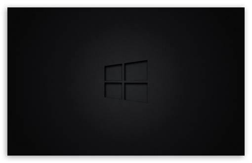 Windows 10 Black Ultra Hd Desktop Background Wallpaper For