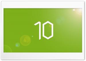 Windows 10 Green Preview HD Wide Wallpaper for 4K UHD Widescreen desktop & smartphone