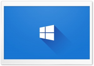 Windows 10 Logo HD Wide Wallpaper for Widescreen