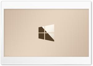 Windows 10 Logo Gold 4K Ultra HD Wallpaper for 4K UHD Widescreen desktop, tablet & smartphone
