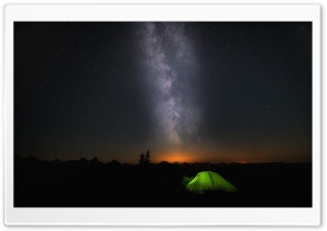 Windows 10 Night Sky HD Wide Wallpaper for 4K UHD Widescreen desktop & smartphone