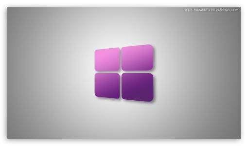 Windows 10 Purple Ultra Hd Desktop Background Wallpaper For