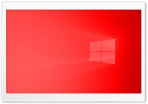 Windows 10 Red Ultra HD Wallpaper for 4K UHD Widescreen desktop, tablet & smartphone