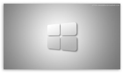 Windows 10 White Ultra Hd Desktop Background Wallpaper For 4k Uhd Tv