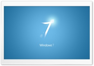 Windows 7 Blue HD Wide Wallpaper for Widescreen