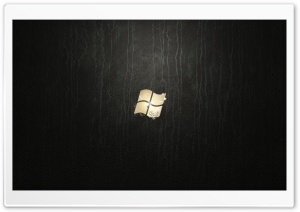 Windows 7 Ultimate Leather HD Wide Wallpaper for Widescreen