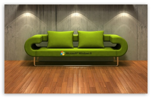 Windows 8   3D Couch HD wallpaper for Wide 16:10 5:3 Widescreen WHXGA WQXGA WUXGA WXGA WGA ; HD 16:9 High Definition WQHD QWXGA 1080p 900p 720p QHD nHD ; Standard 4:3 5:4 Fullscreen UXGA XGA SVGA QSXGA SXGA ; MS 3:2 DVGA HVGA HQVGA devices ( Apple PowerBook G4 iPhone 4 3G 3GS iPod Touch ) ; Mobile VGA WVGA iPhone iPad PSP Phone - VGA QVGA Smartphone ( PocketPC GPS iPod Zune BlackBerry HTC Samsung LG Nokia Eten Asus ) WVGA WQVGA Smartphone ( HTC Samsung Sony Ericsson LG Vertu MIO ) HVGA Smartphone ( Apple iPhone iPod BlackBerry HTC Samsung Nokia ) Sony PSP Zune HD Zen ;