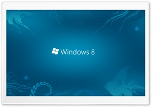 Windows 8 Blue HD Wide Wallpaper for Widescreen