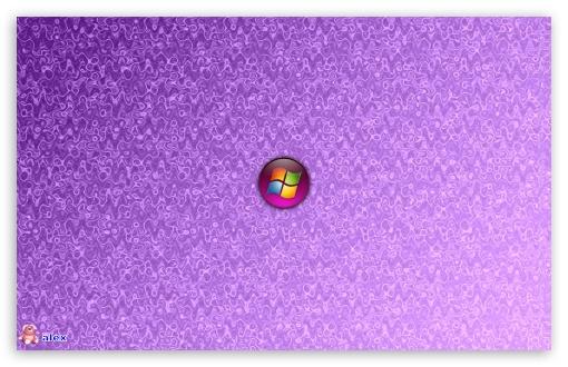 Windows 8 Official Wallpaper Purple Windows 8 (Ligh...