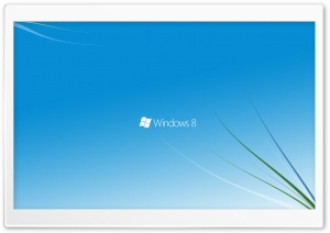 Windows 8 Logo HD Wide Wallpaper for Widescreen