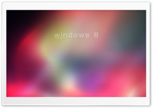 Windows 8 Rainbow HD Wide Wallpaper for Widescreen
