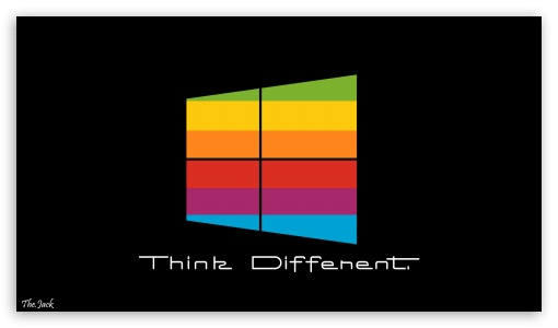 Windows 8 Think Different BG HD wallpaper for HD 16:9 High Definition WQHD QWXGA 1080p 900p 720p QHD nHD ; Standard 4:3 5:4 3:2 Fullscreen UXGA XGA SVGA QSXGA SXGA DVGA HVGA HQVGA devices ( Apple PowerBook G4 iPhone 4 3G 3GS iPod Touch ) ; Tablet 1:1 ; iPad 1/2/Mini ; Mobile 4:3 3:2 16:9 5:4 - UXGA XGA SVGA DVGA HVGA HQVGA devices ( Apple PowerBook G4 iPhone 4 3G 3GS iPod Touch ) WQHD QWXGA 1080p 900p 720p QHD nHD QSXGA SXGA ;