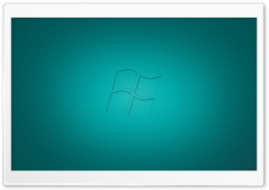 Windows Vista Cyan HD Wide Wallpaper for Widescreen