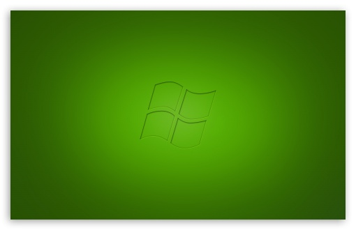 Download Windows Vista Green UltraHD Wallpaper