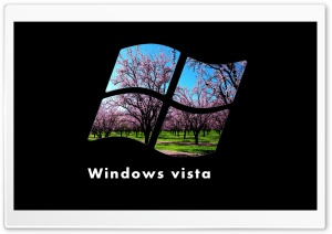 Windows Vista Logo HD Wide Wallpaper for Widescreen