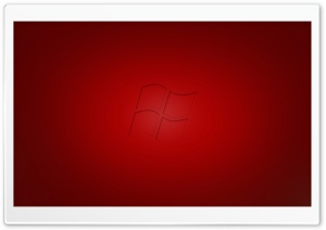 Windows Vista Red HD Wide Wallpaper for Widescreen