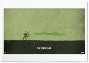 Windrunner - DotA 2 HD Wide Wallpaper for Widescreen