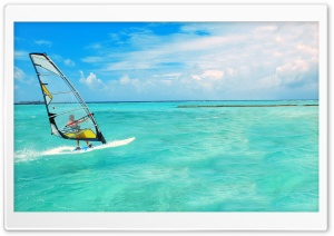 Windsurfing HD Wide Wallpaper for Widescreen