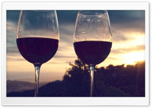 Wine O Clock HD Wide Wallpaper for Widescreen