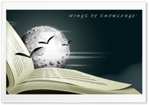 WINGS OF KNOWLEDGE HD Wide Wallpaper for Widescreen